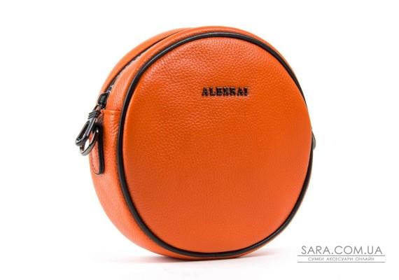 Сумка Жіноча Клатч шкіра ALEX RAI 1-02 39032-10 orange Podium