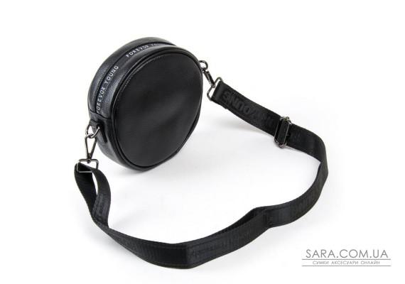 Сумка Жіноча Клатч шкіра ALEX RAI 1-02 39032-1 black Podium