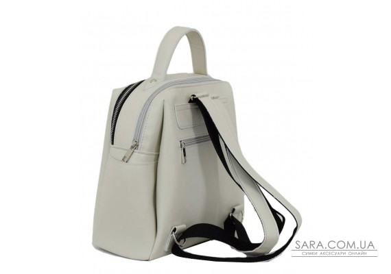 660 рюкзак екошкіра айворі Lucherino