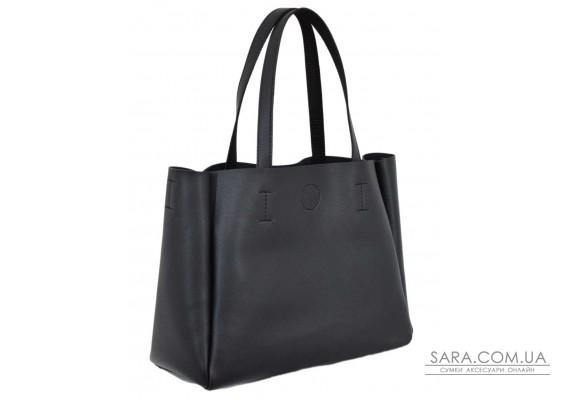 677 сумка чорна Lucherino