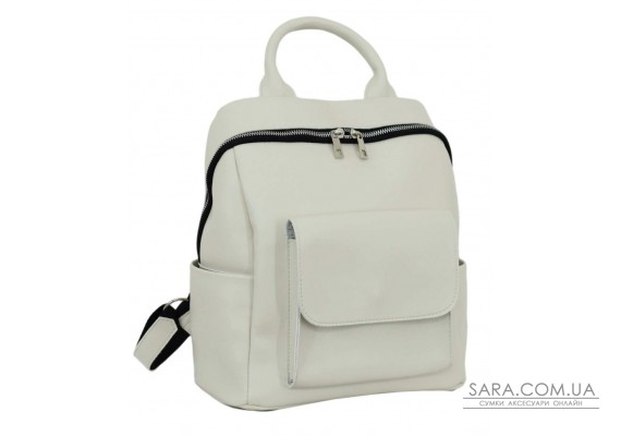 674 рюкзак екошкіра айворі Lucherino
