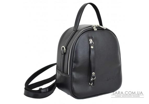670 рюкзак чорний Lucherino