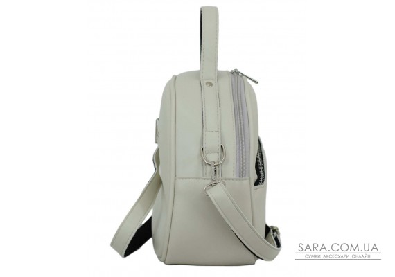 672 сумка екошкіра айворі Lucherino
