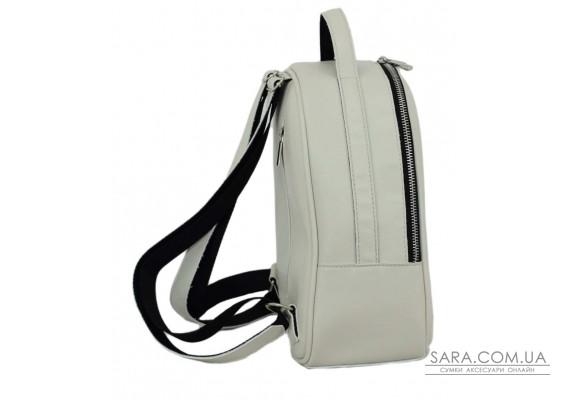 664 рюкзак екошкіра айворі Lucherino