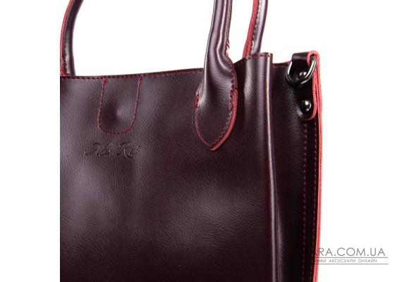 Сумка Жіноча Класична шкіра ALEX RAI 05-01 8784 red-wine