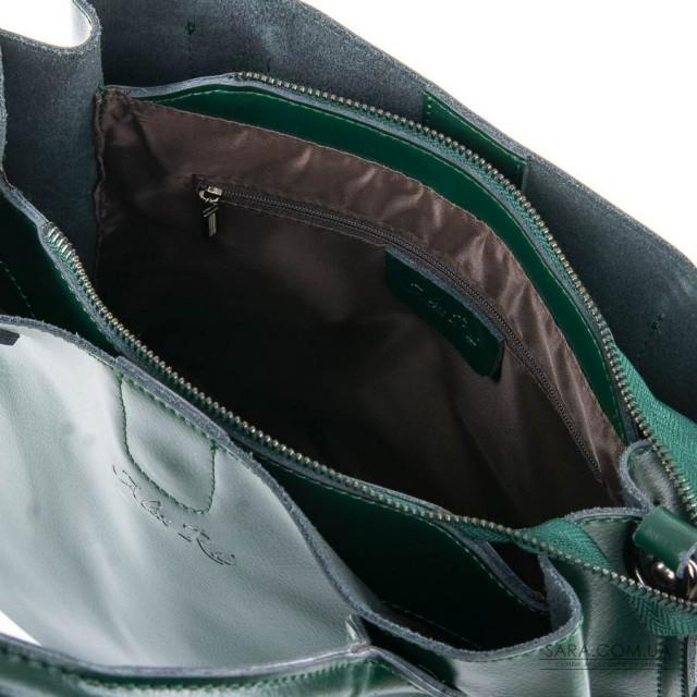 Сумка Жіноча Класична шкіра ALEX RAI 05-01 8784 green дешево.