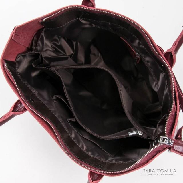 Сумка Жіноча Класична шкіра ALEX RAI 05-01 8776 wine-red дешево.