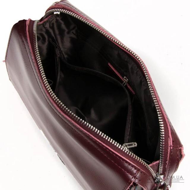 Сумка Жіноча Класична шкіра ALEX RAI 05-01 2227 burgundi дешево.