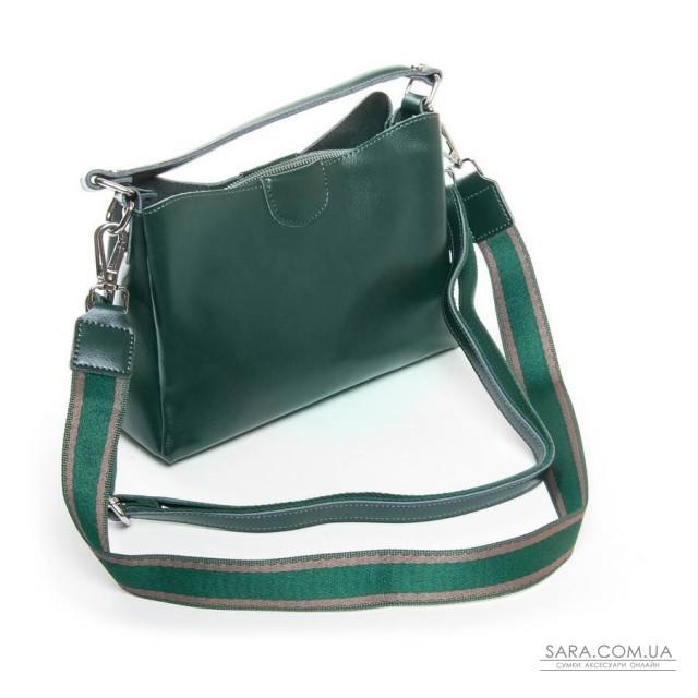 Сумка Жіноча Класична шкіра ALEX RAI 05-01 1383 green дешево.
