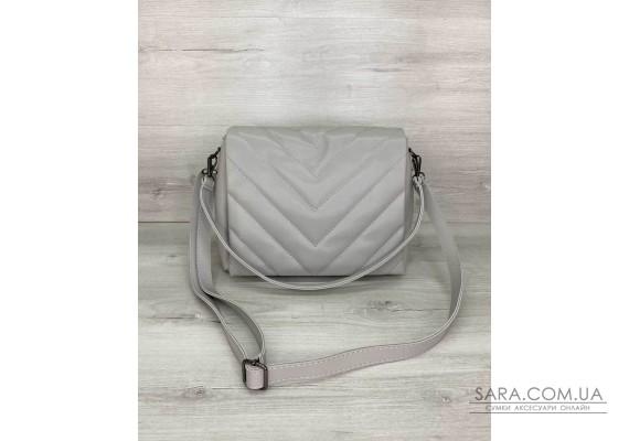 Жіноча сумка «Сара» сіра WeLassie