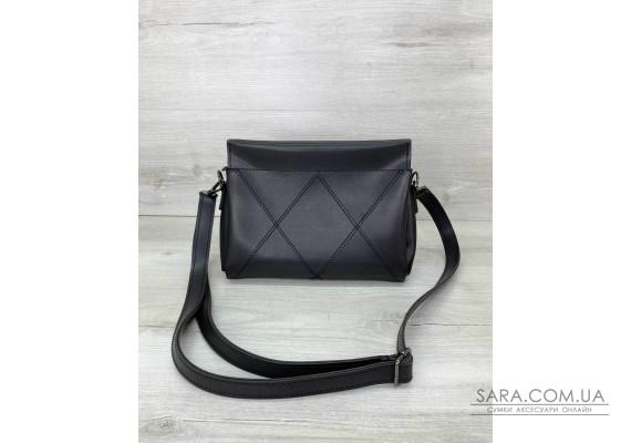 Жіноча сумка «Стелла» чорна WeLassie