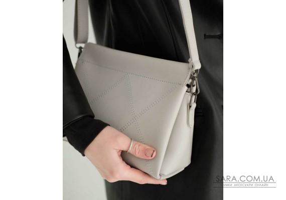 Жіноча сумка «Стелла» сіра WeLassie