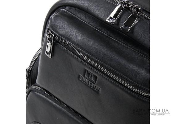 Рюкзак Міський шкіряний BRETTON BE k1650-3 black