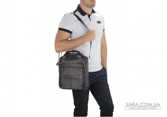 Сумка для ноутбука шкіряна Tiding Bag A25-8861DB