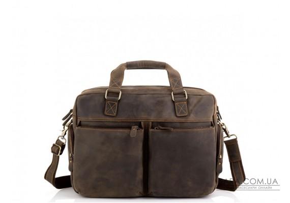 Сумка для ноутбука ділова в вінтажному стилі Tiding Bag D4-002R