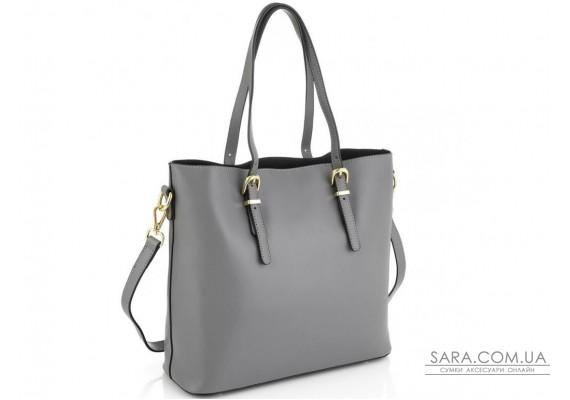 Женская серая сумка Grays GR3-173LBL