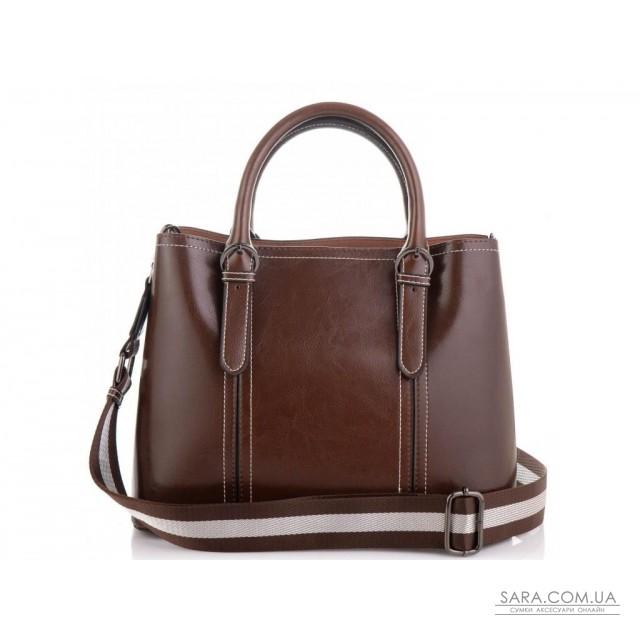 Жіноча коричнева сумка Grays GR3-8501B недорого