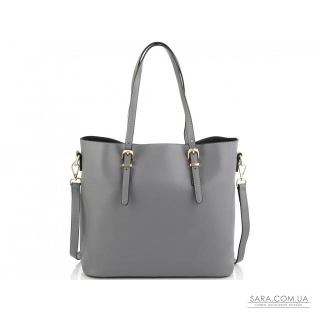 Жіноча сіра сумка Grays GR3-173LBL недорого