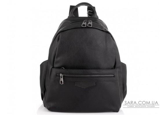 Женский кожаный рюкзак черный Olivia Leather NWBP27-009A