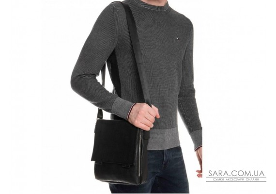 Мессенджер чорний чоловічий Tiding Bag A25F-8877A
