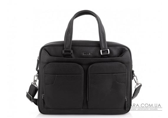 Ділова чоловіча шкіряна сумка для ноутбука Tavinchi TV-1001A