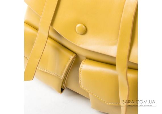 Сумка Жіноча Рюкзак шкірзамінник FASHION 01-02 9903 yellow Podium