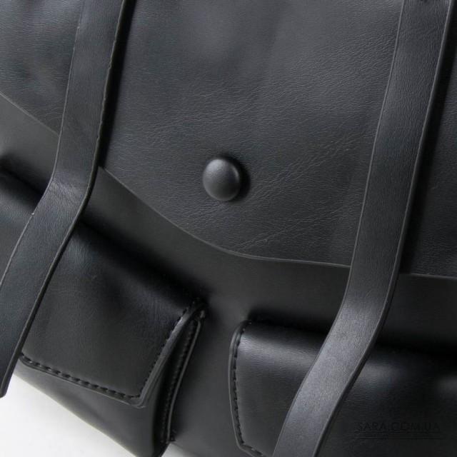 Сумка Жіноча Рюкзак шкірзамінник FASHION 01-02 9903 black Podium дешево.
