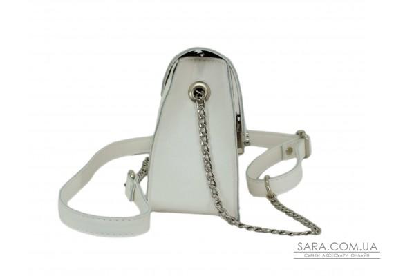 650 сумка екошкіра біла Lucherino