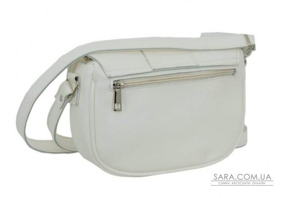 665 сумка екошкіра біла Lucherino