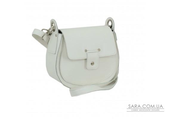 662 сумка екошкіра біла Lucherino