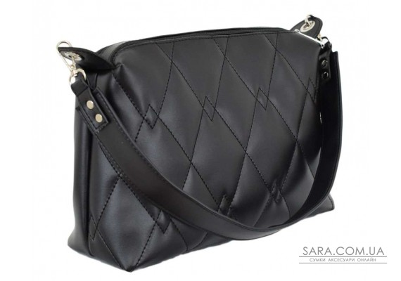 681 сумка чорна Lucherino