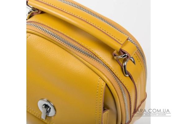 Сумка Жіноча Класична шкіра ALEX RAI 03-02 2236 yellow