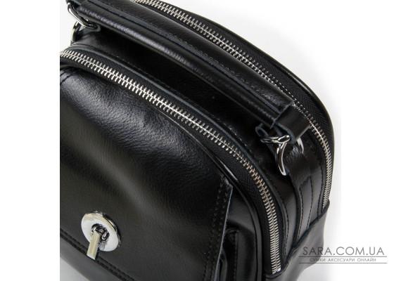 Сумка Жіноча Класична шкіра ALEX RAI 03-02 2236 black