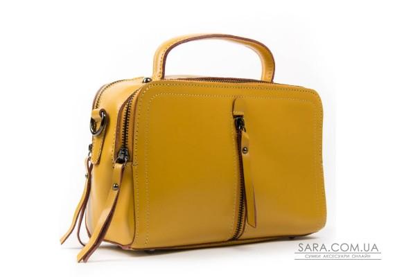 Сумка Жіноча Класична шкіра ALEX RAI 03-02 9119 yellow