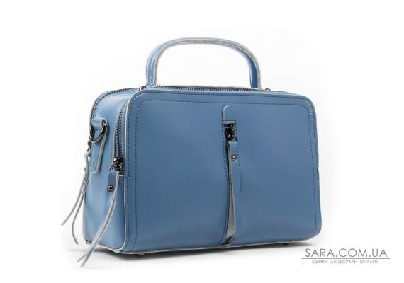 Сумка Жіноча Класична шкіра ALEX RAI 03-02 9119 blue