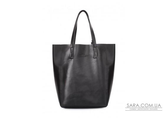 Сумка-шоппер Model з еко-шкіри (model-pu-black)
