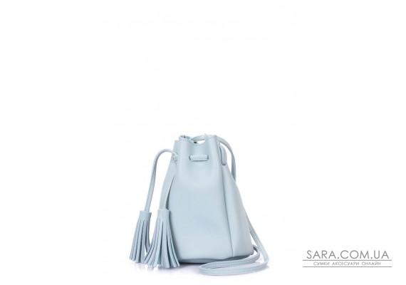 Голубая сумка на завязках (miniso-bucket-babyblue)