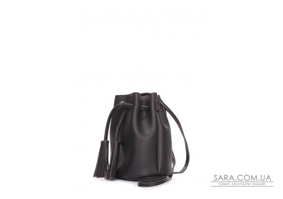 Женская сумка на завязках (miniso-bucket-black)