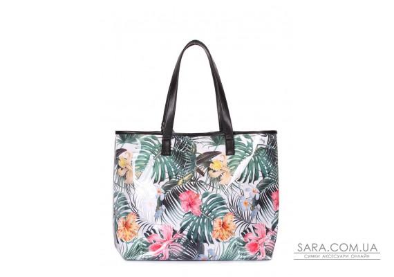 Літня сумка Resort з тропічним принтом (resort-tropic)