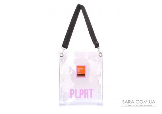Прозора сумка Clear з ременем на плече (clear-blue)