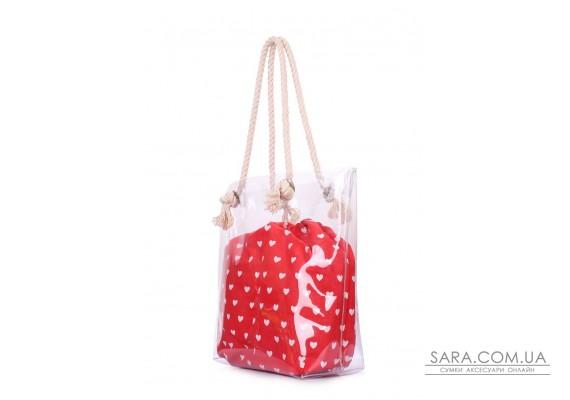 Прозора річна сумка з серцями (anchor-clr-hearts)