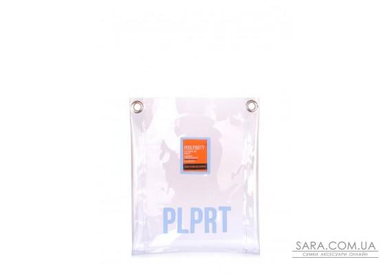 Прозора сумка Clear з ременем на плече (clear-pink)