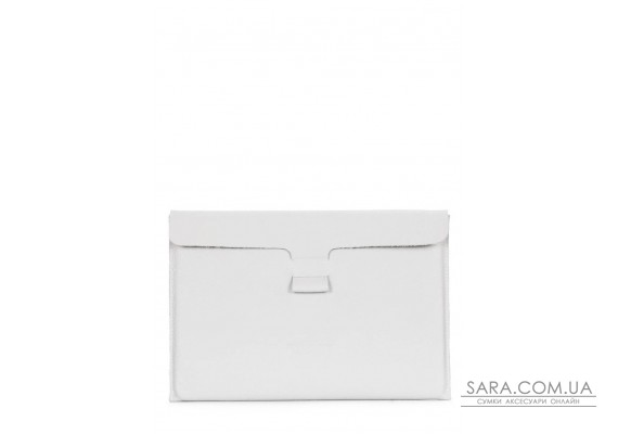 "Кожаный чехол для MacBook 13"" белый (macbook-case-white)"