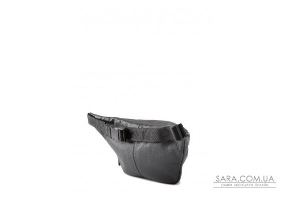 Шкіряна сумка-бананка PLPRT (waistbag-leather-black)