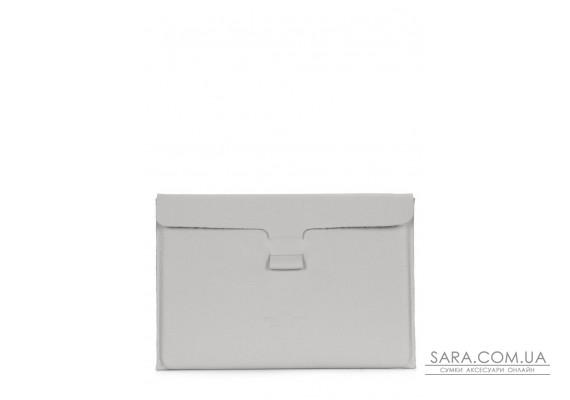"""Кожаный чехол для MacBook 13"""" серый (macbook-case-grey)"""