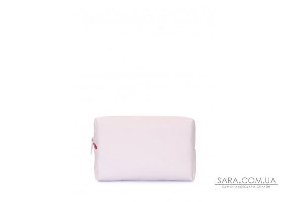 Стильна біла косметичка (beautybag-white)