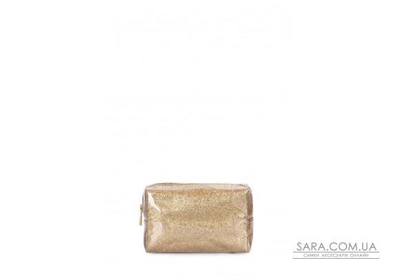 Стильна золота косметичка (beautybag-shine)