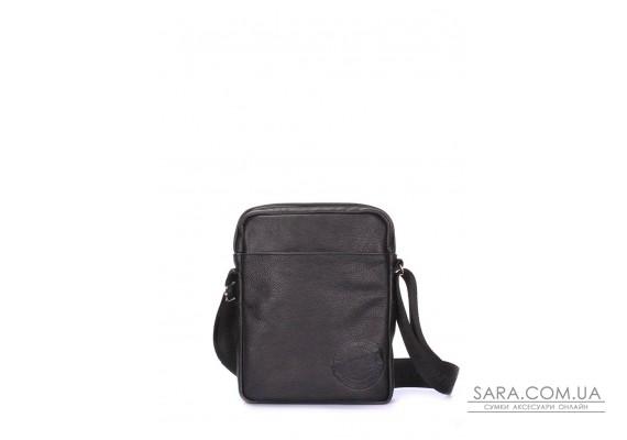 Чоловіча шкіряна сумка на плече POOLPARTY (pool-94-leather)