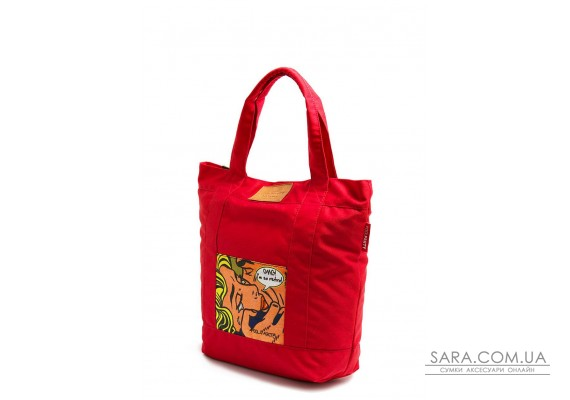 Коттоновая сумка POOLPARTY (pool-superbag)