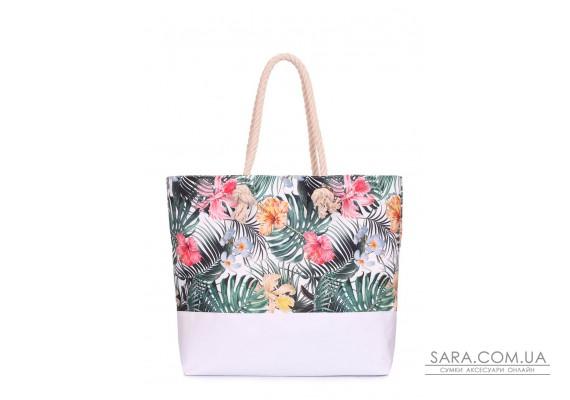 Літня сумка Palm Beach з тропічним принтом (palmbeach-tropic)